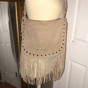Gently used fringe MK purse